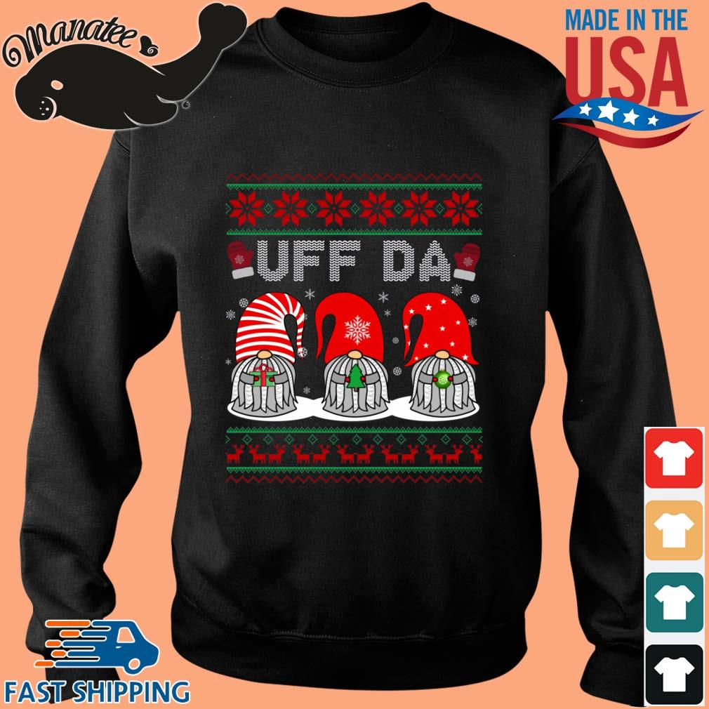 Santa Gnomes Uff Da Ugly Christmas Sweater