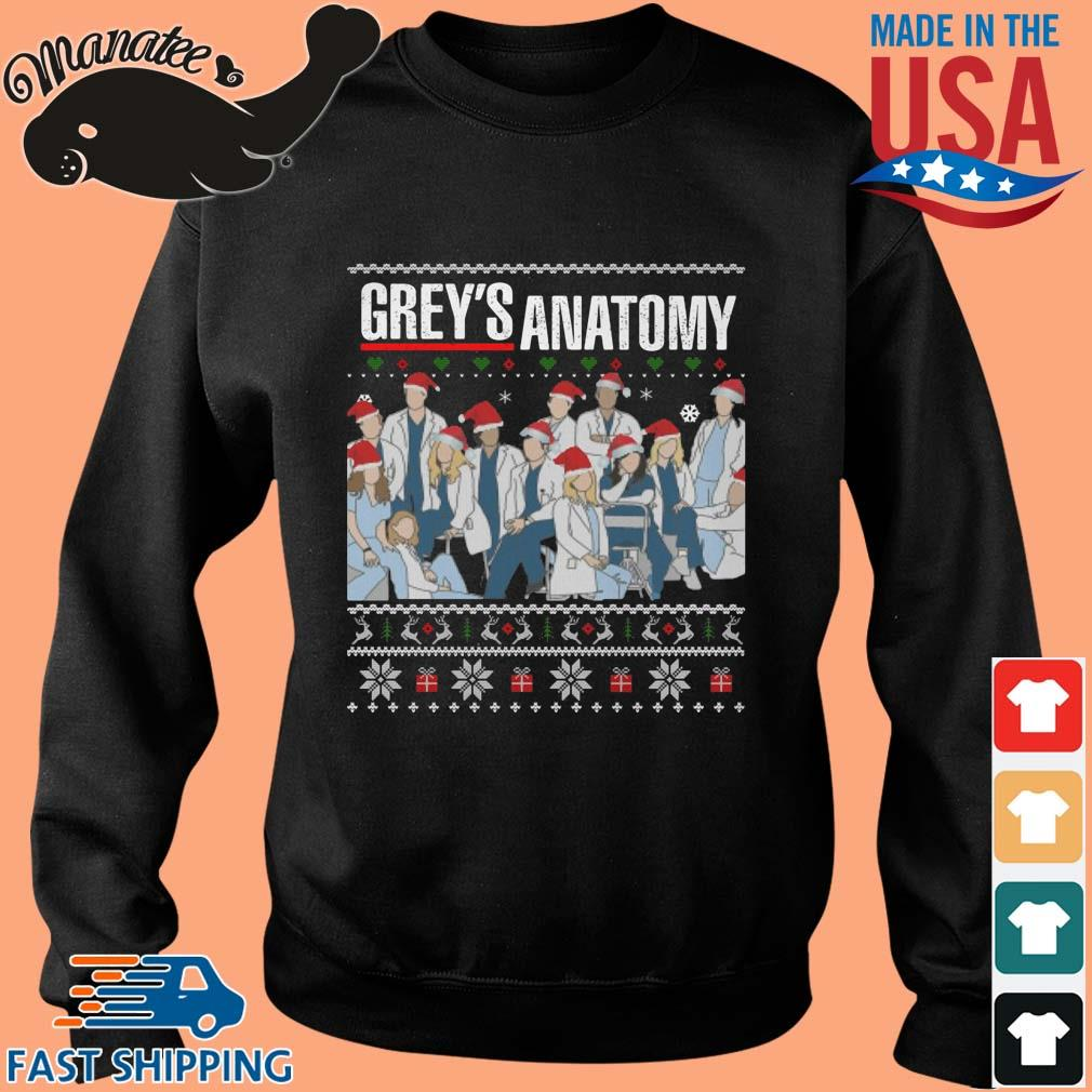 Santa Grey's Anatomy Ugly Christmas sweater