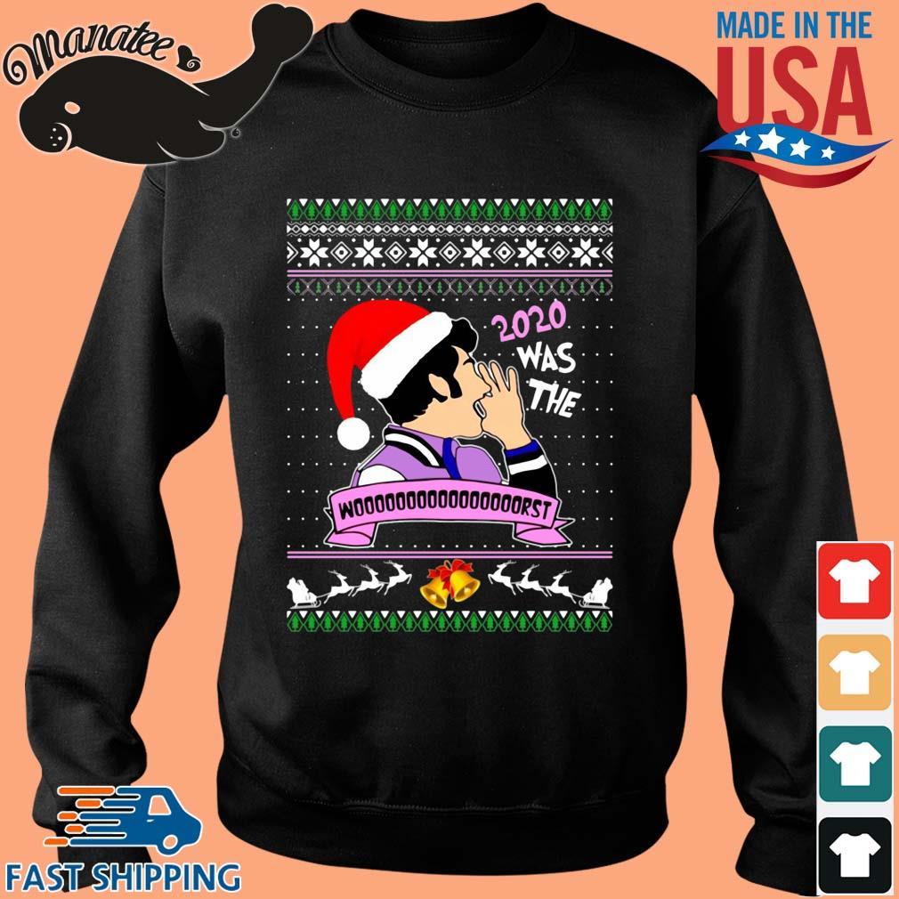 Santa Jean Ralphio 2020 Was The Worst Ugly Christmas Sweatshirt