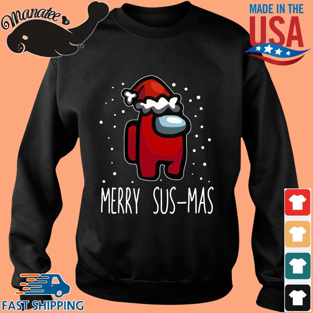 Santa Red Among Us Merry Sus-Mas Christmas sweater Sweater den