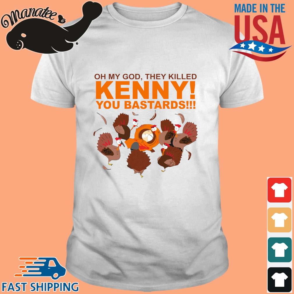 South park oh my god they killed kenny you bastards s Shirt trang