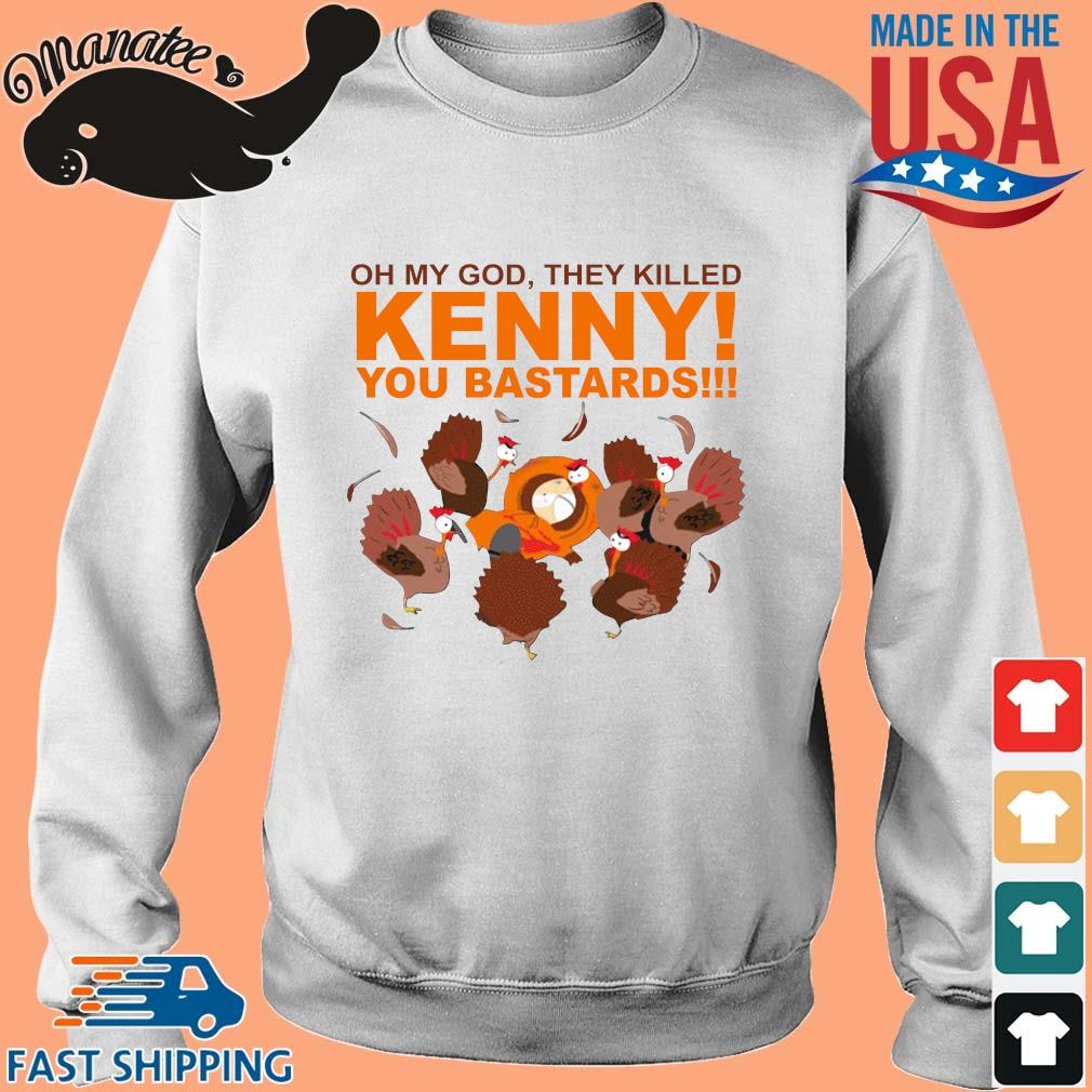South park oh my god they killed kenny you bastards shirt