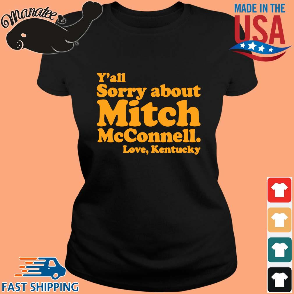 Y'all sorry about mitch mcconnell love kentucky s ladies den