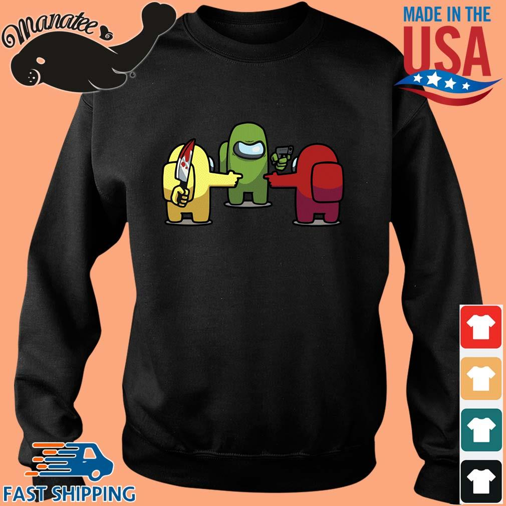 You is a Imposter Among Us Game Shirt Sweater den