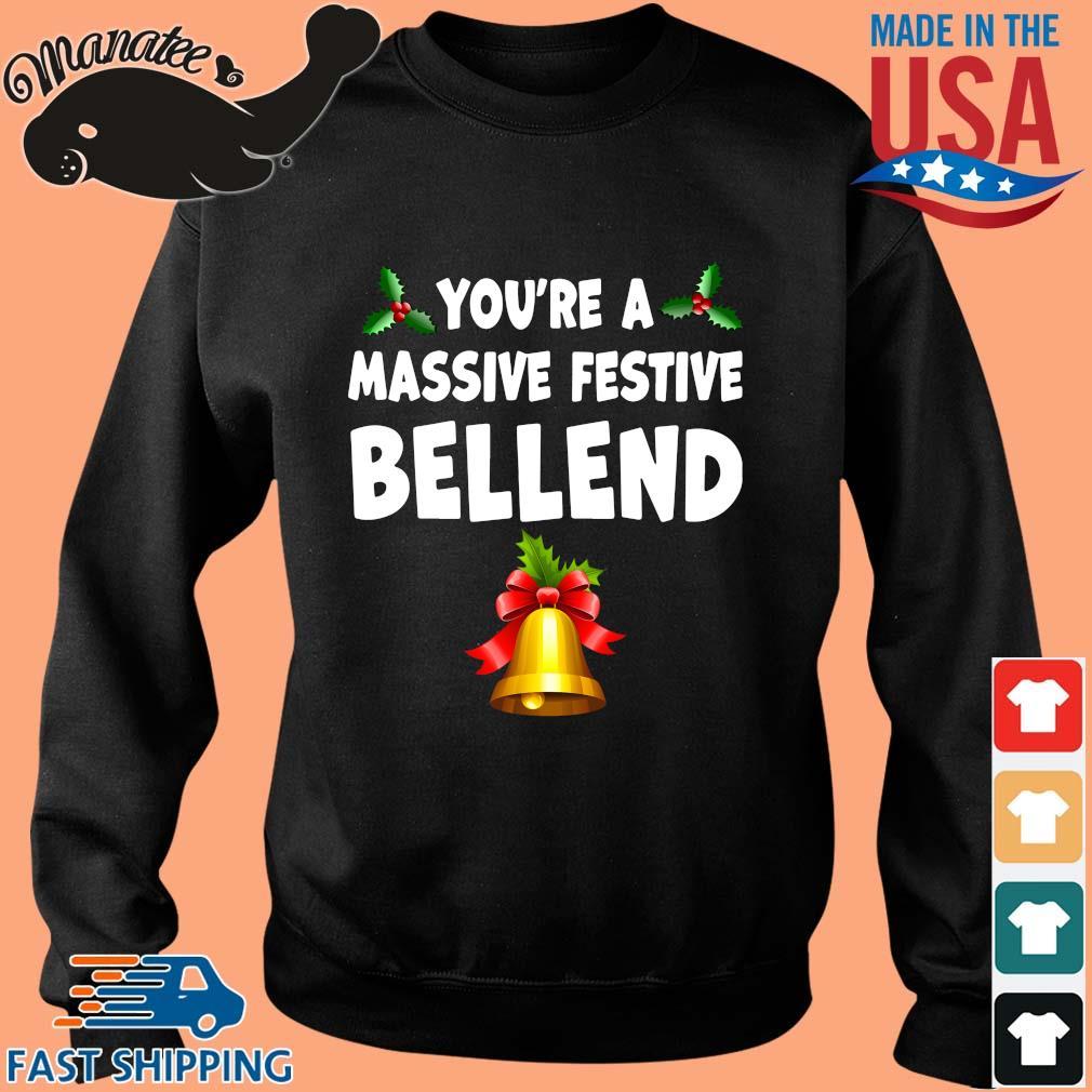 You're a massive festive bellend Christmas sweater