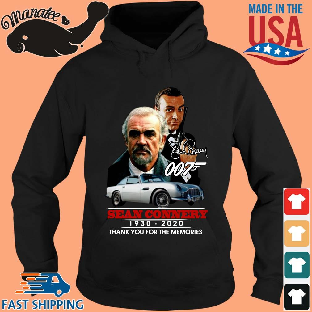 007 Sean Connery 1930-2020 thank you for the memories signature s hoodie den
