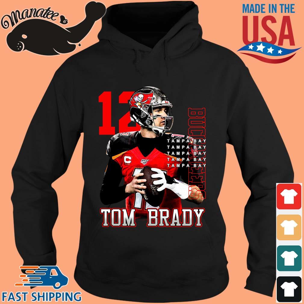 12 Tom Brady Tampa Bay Buccaneers T-Shirt (1) hoodie den