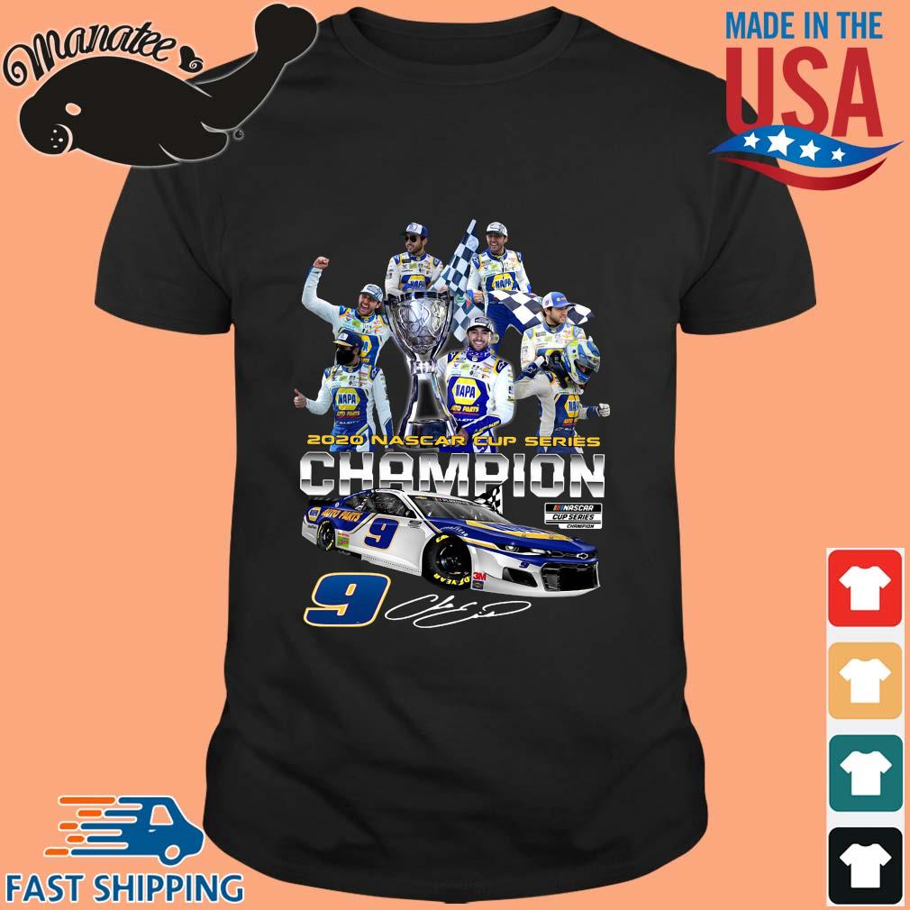 2020 nascar cup series Champion signature shirt