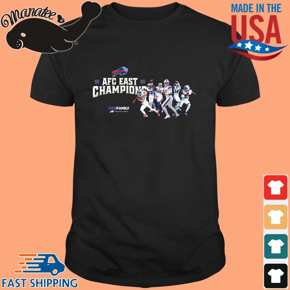 Buffalo Bills 2020 AFC East Champions one family sweatshirt
