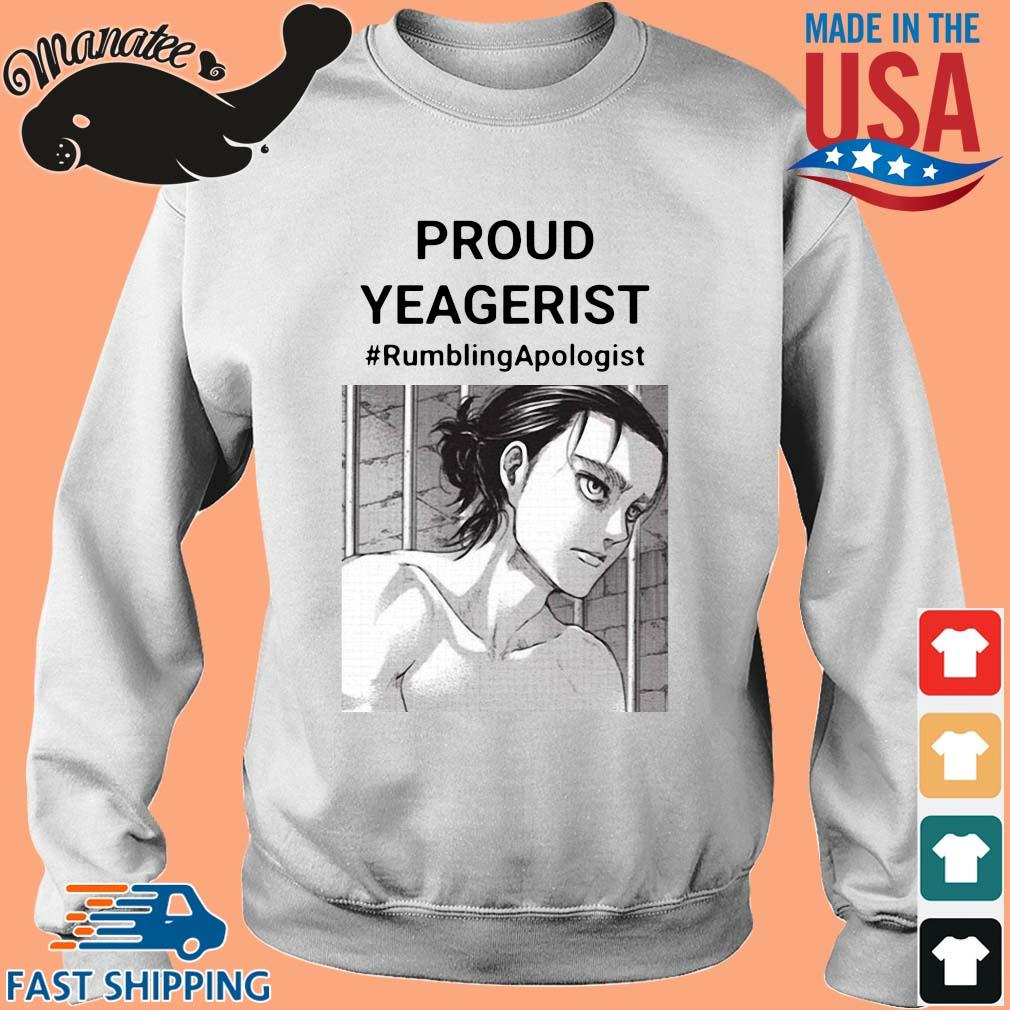 Proud yeagerist rumbling apologist s Sweater trang