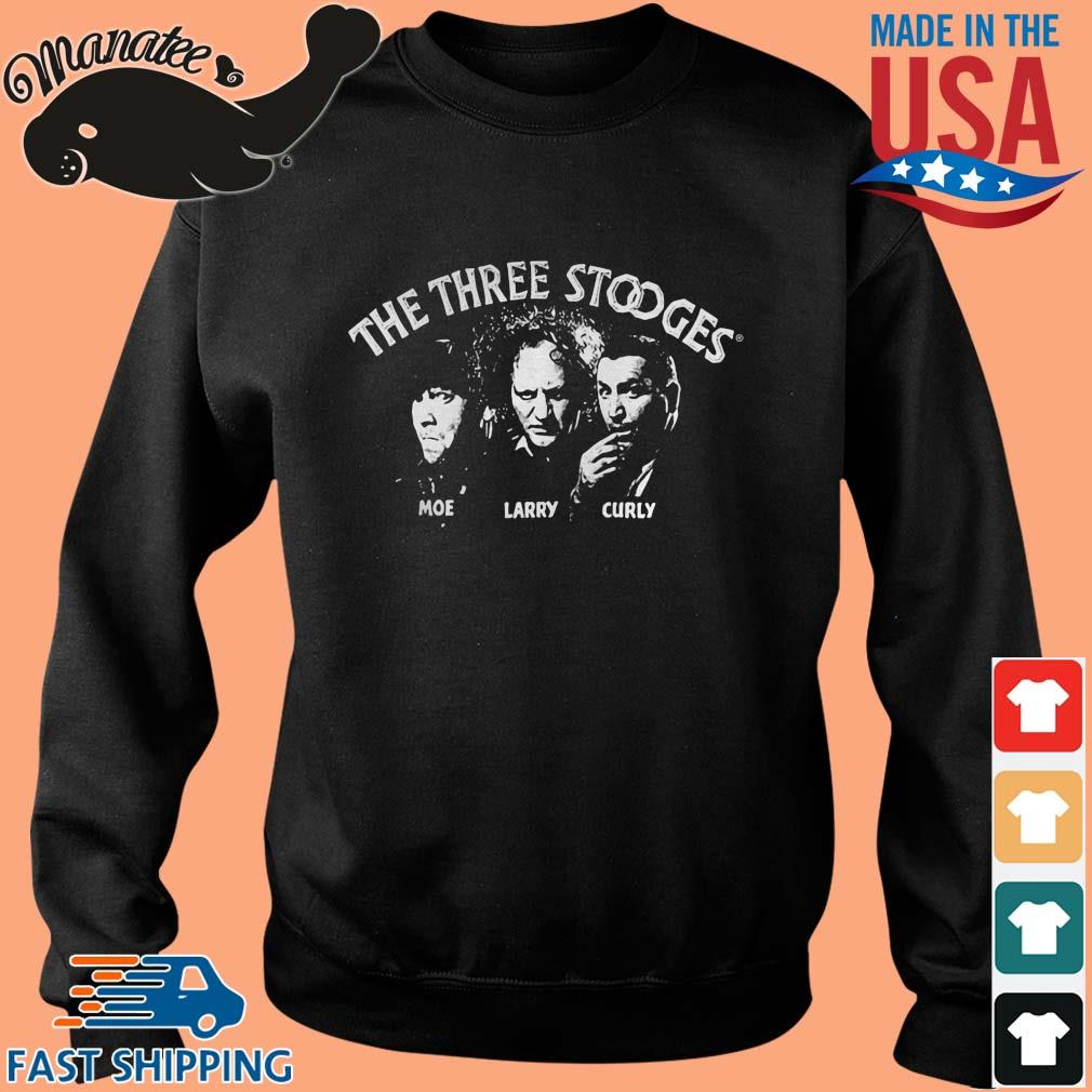 The Three Stooges Moe Larry and Curly shirt