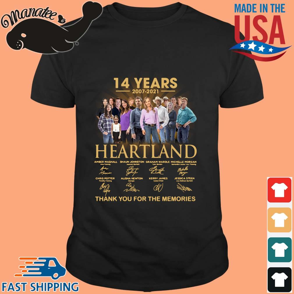14 years of 2007-2021 Heartland thank you for the memories signatures wisptee