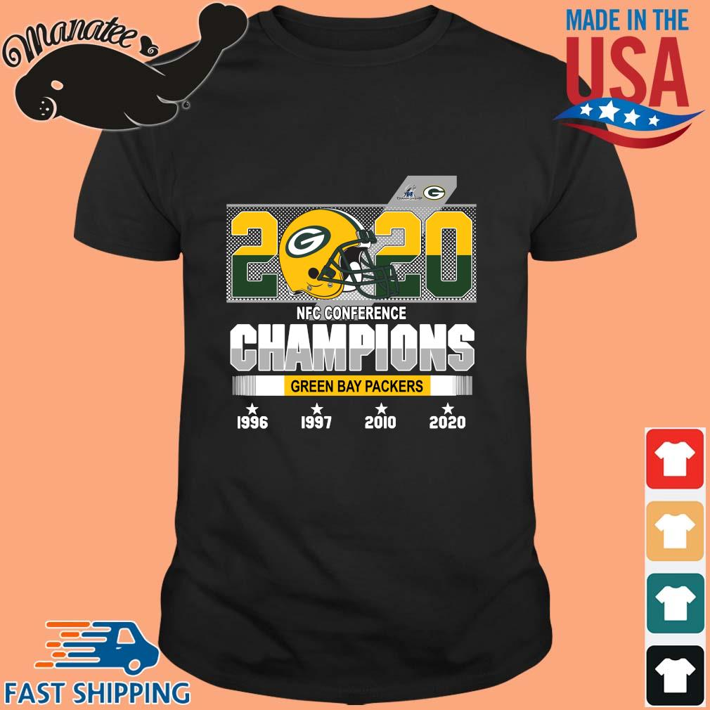 22020 NFC conference Champion Green Bay Packers 1996-2020 shirt
