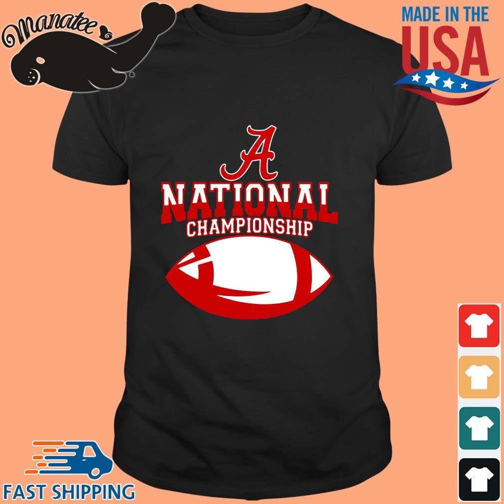 Alabama Crimson national championship shirt
