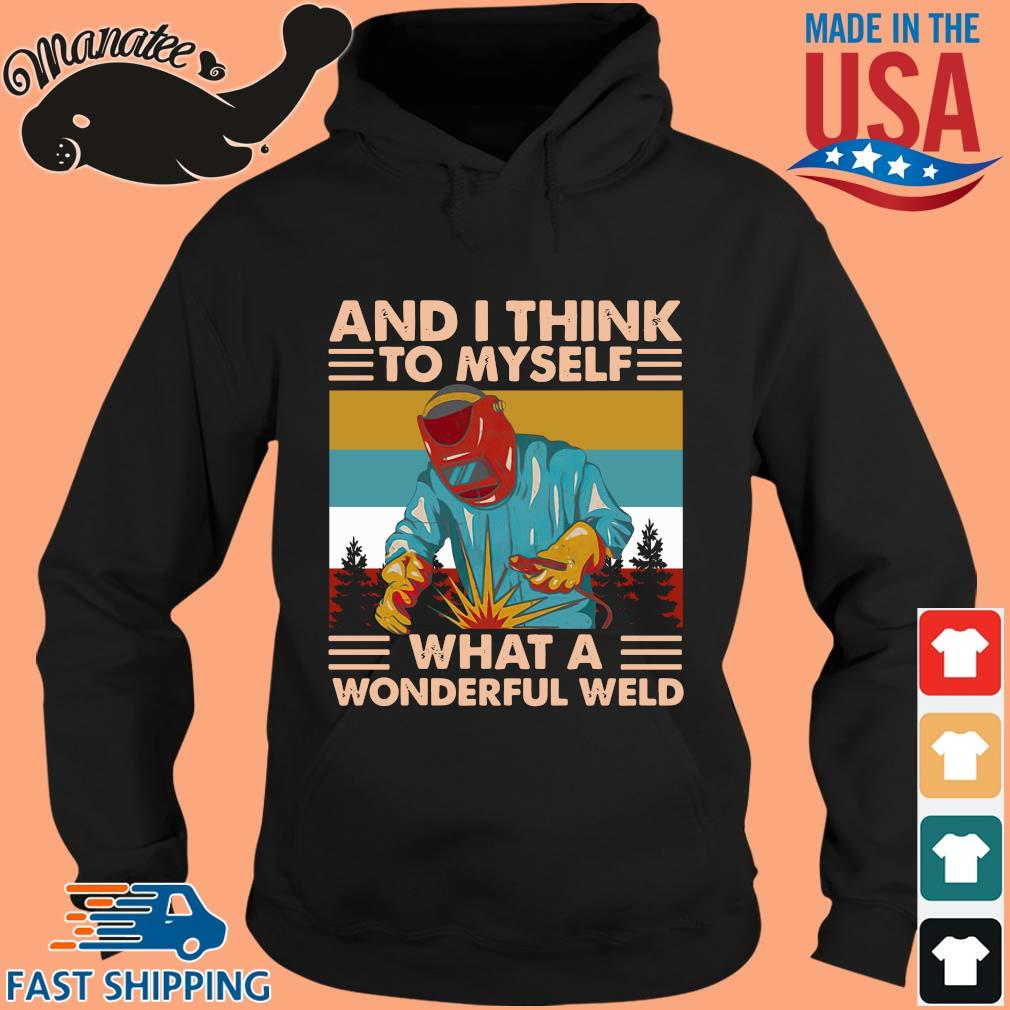 And I think to myself what a wonderful world vintage s hoodie den