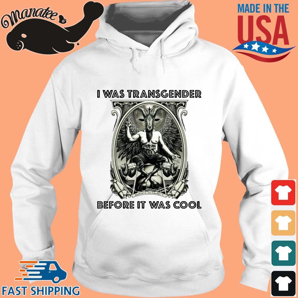 Baphomet I was transgender before it was cool s hoodie trang