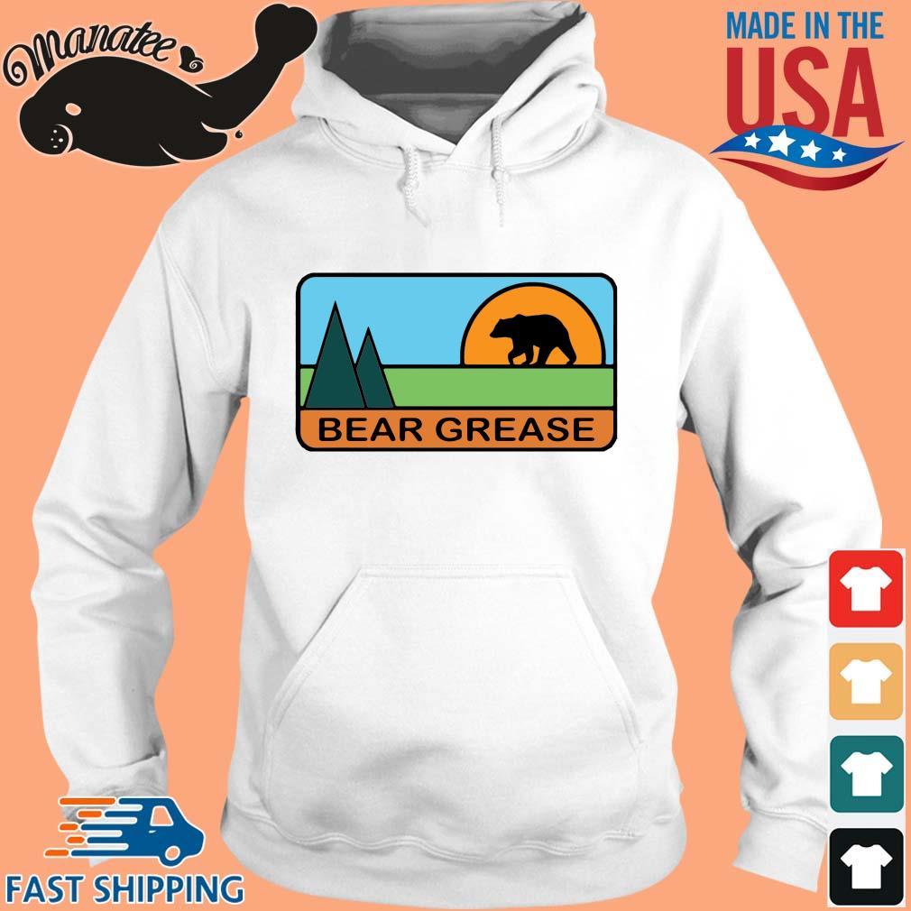 Bear grease s hoodie trang