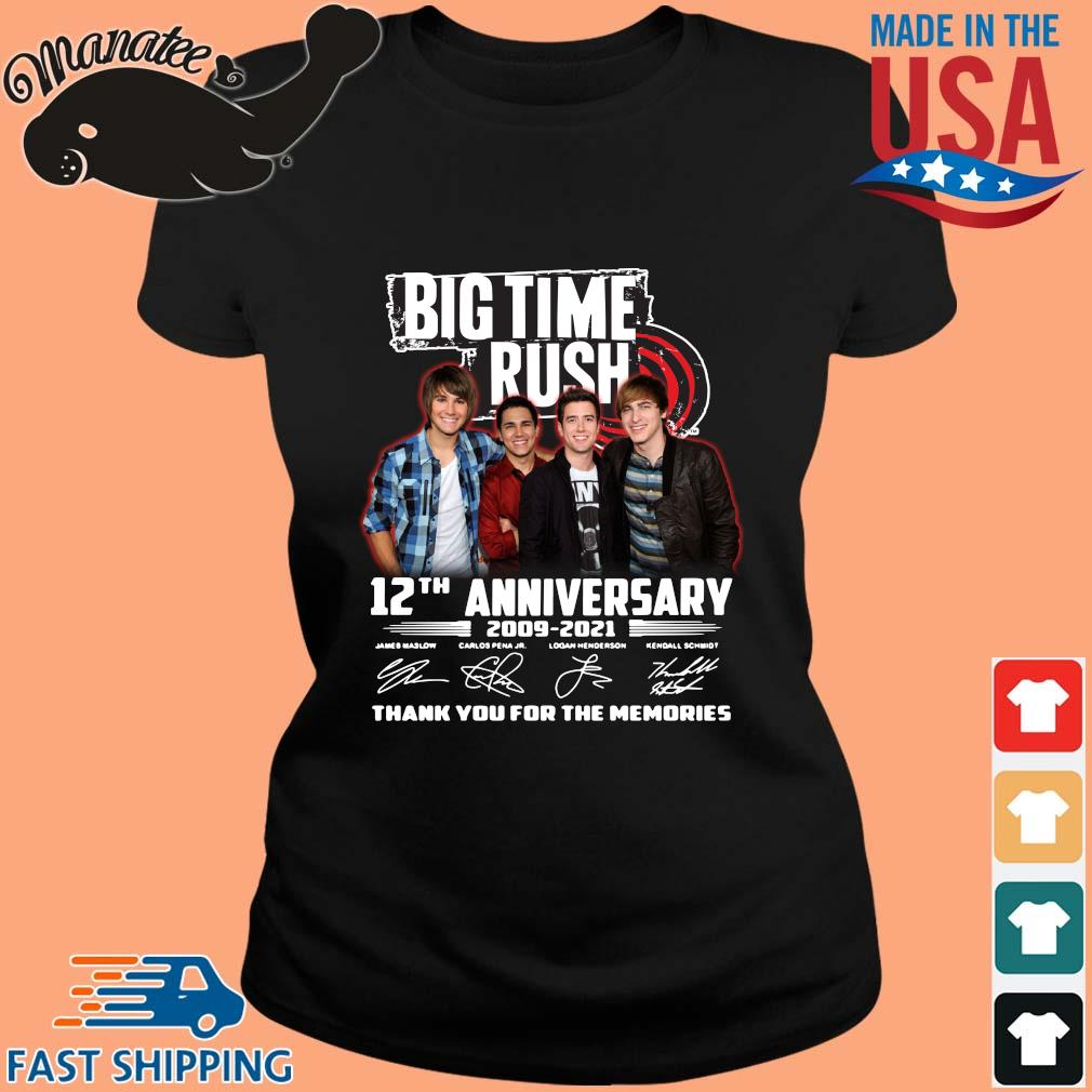 Big Time Rush 12th anniversary 2009-2021 thank you for the memories signatures s ladies den
