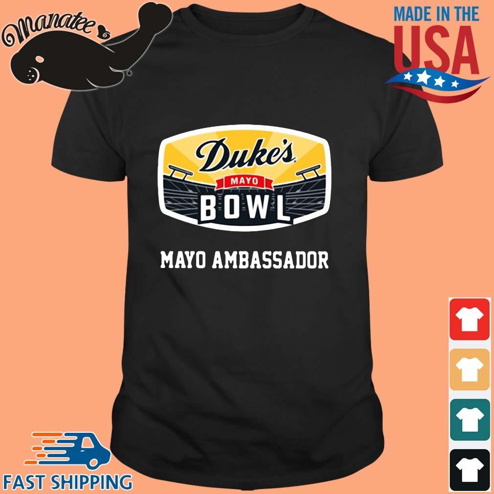 Duke's mayo bowl mayo ambassador shirt
