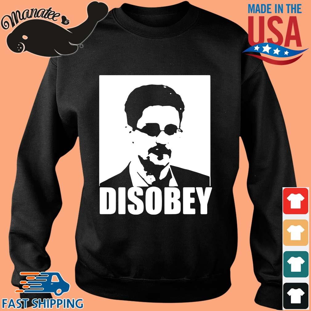 Edward Snowden disobey s Sweater den