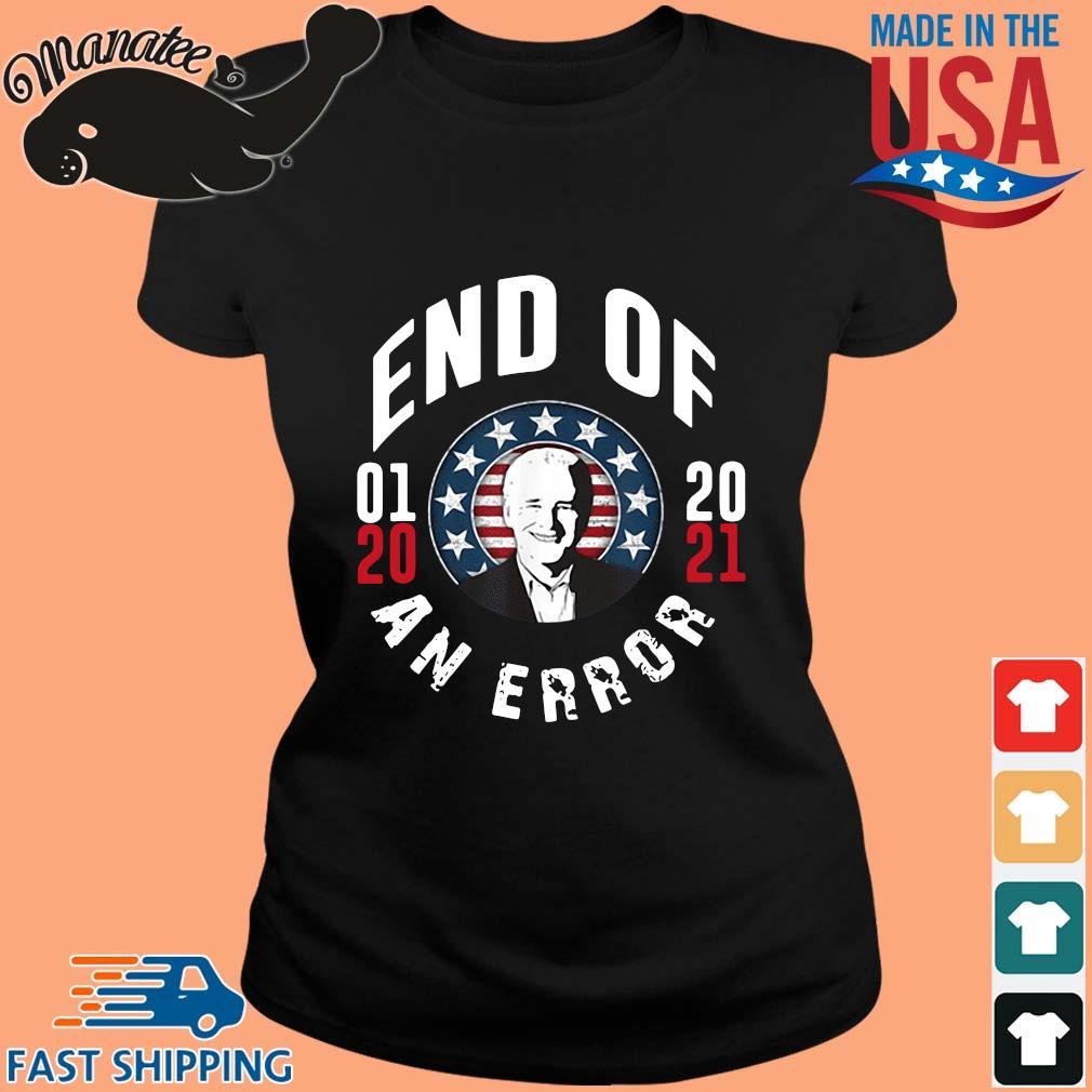 Joe Biden end of 01 20 2021 an error s ladies den