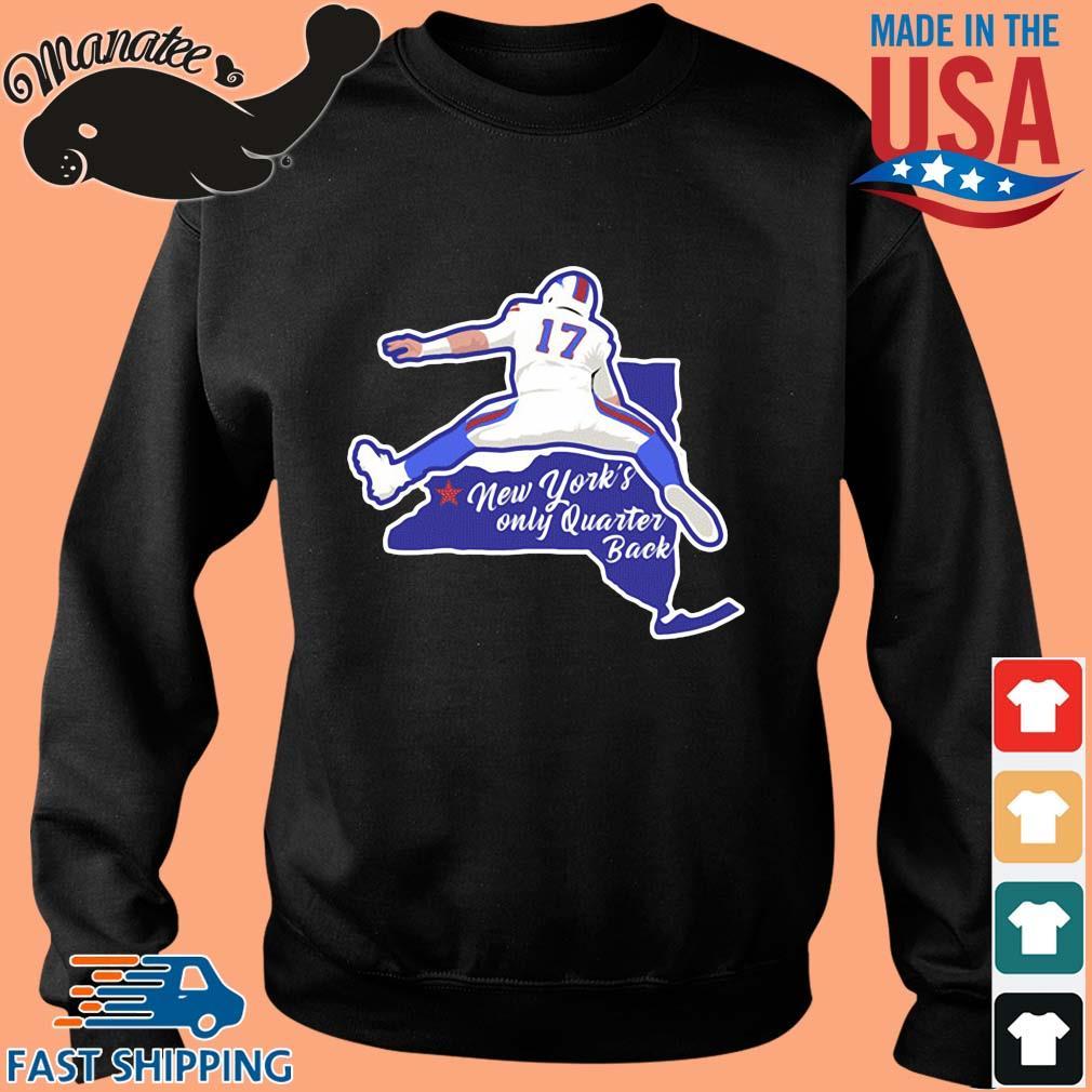 Josh Allen New York's only quarterback s Sweater den