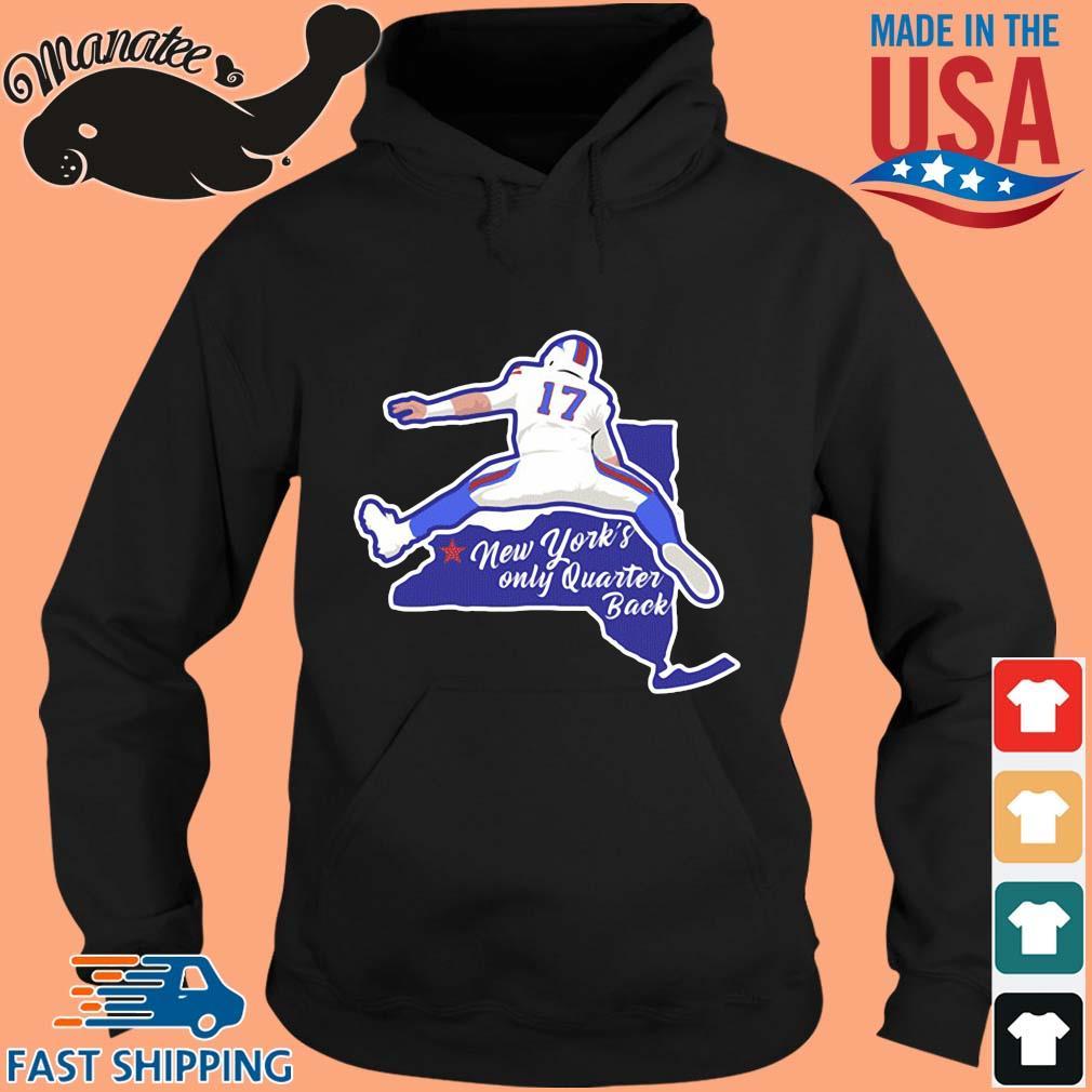 Josh Allen New York's only quarterback s hoodie den