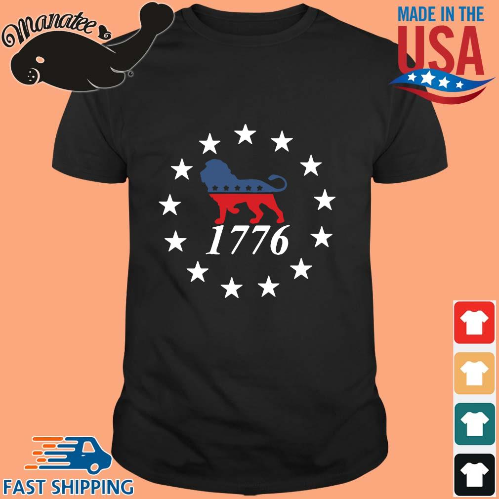 Lion the patriot party 1776 shirt