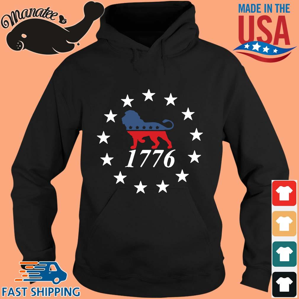 Lion the patriot party 1776 s hoodie den