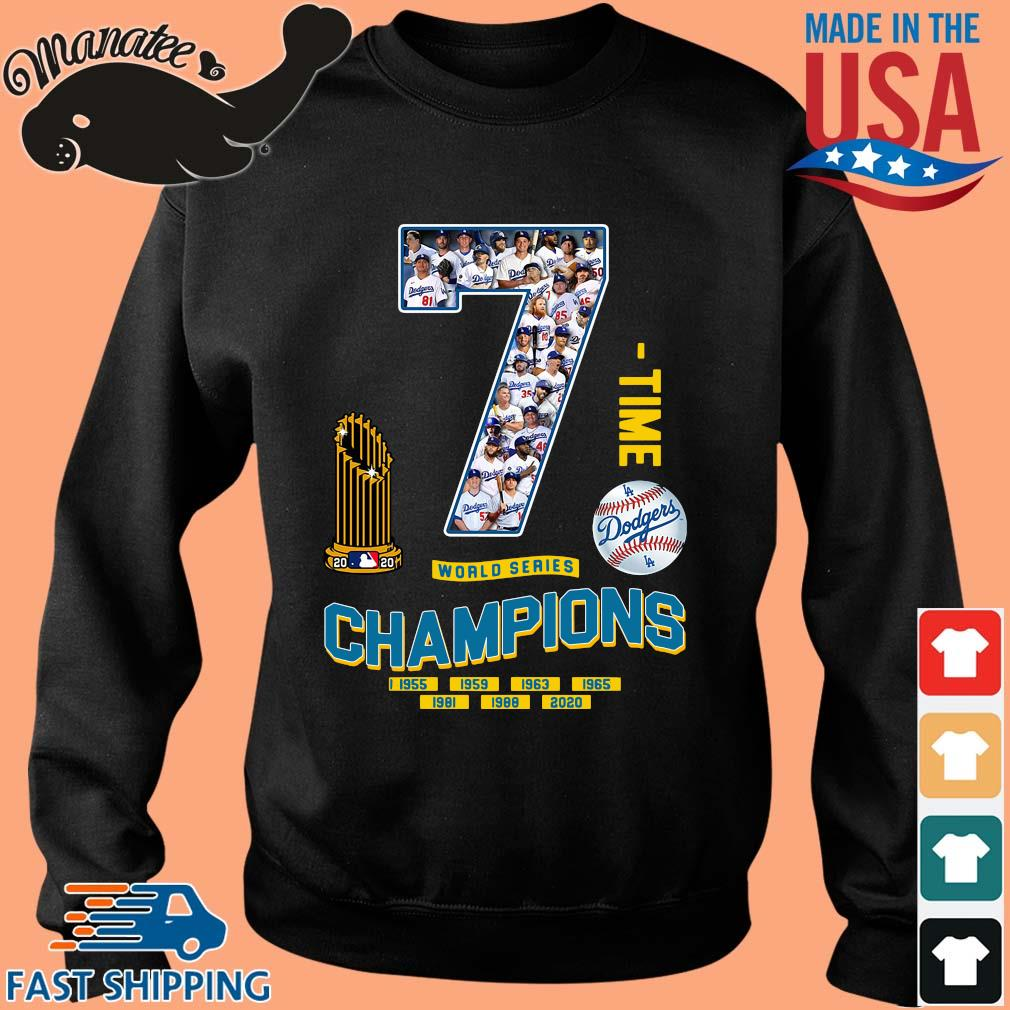 Los Angeles Dodgers 7 world series Champions 1995-2020 s Sweater den