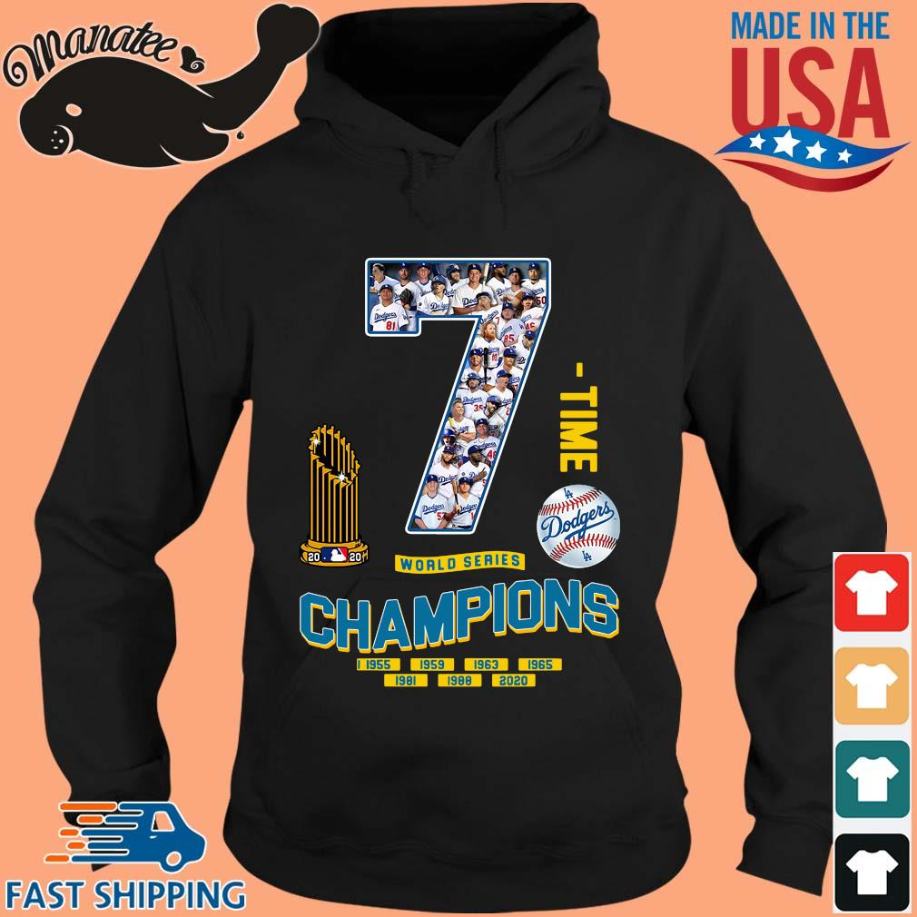 Los Angeles Dodgers 7 world series Champions 1995-2020 s hoodie den