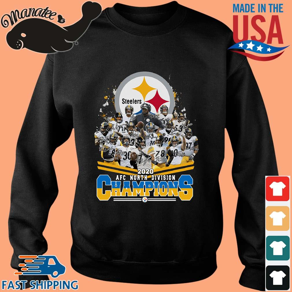 Pittsburgh Steelers 2020 AFC north division Champions signatures s Sweater den