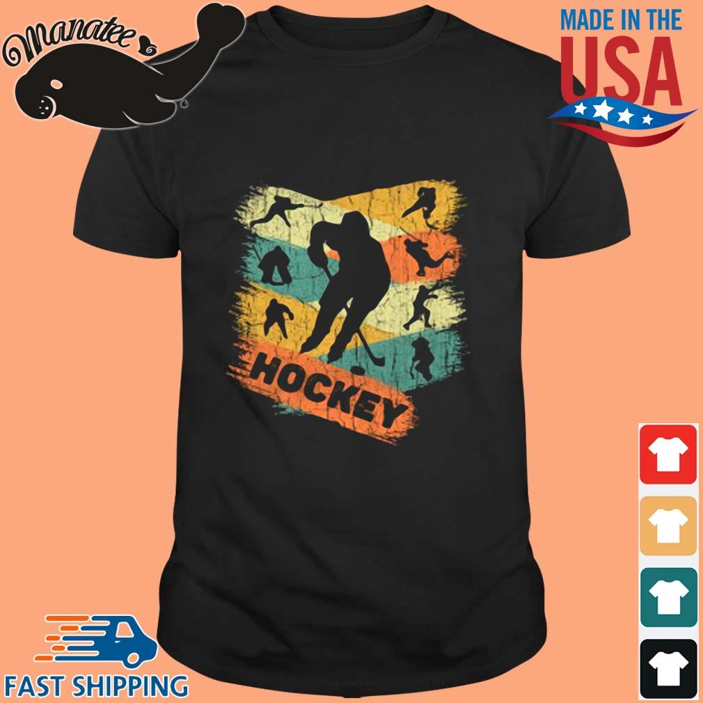 Play hockey vintage wisptee