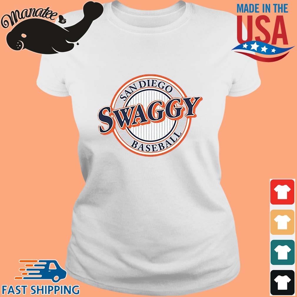 Sandiego Swaggy Baseball Shirt Ladies trang