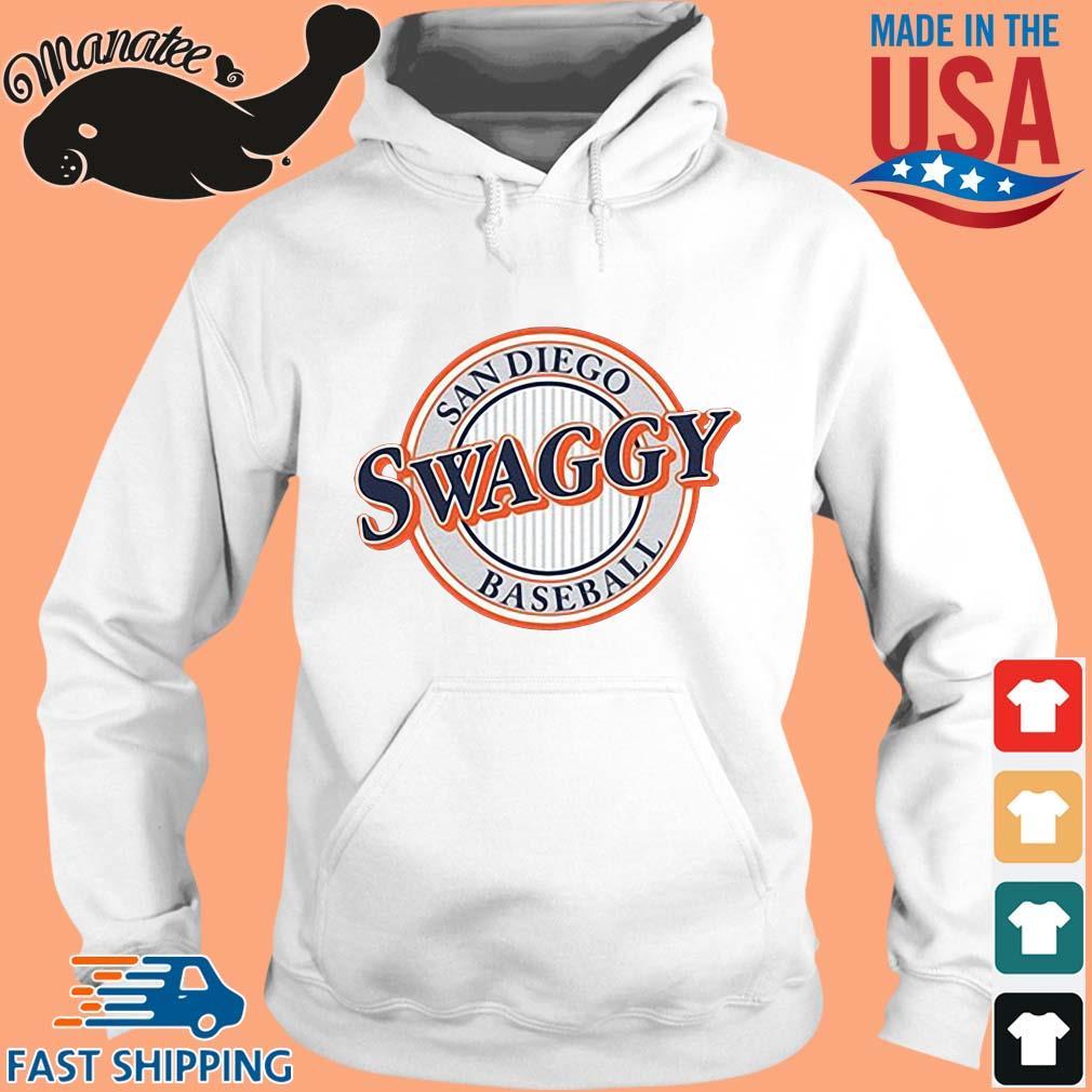 Sandiego Swaggy Baseball Shirt hoodie trang