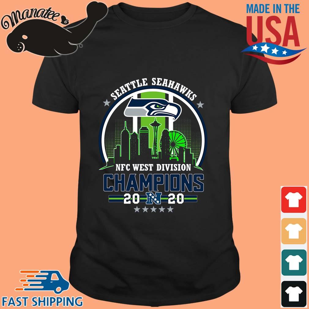 Seattle Seahawks NFC west division Champions shirt