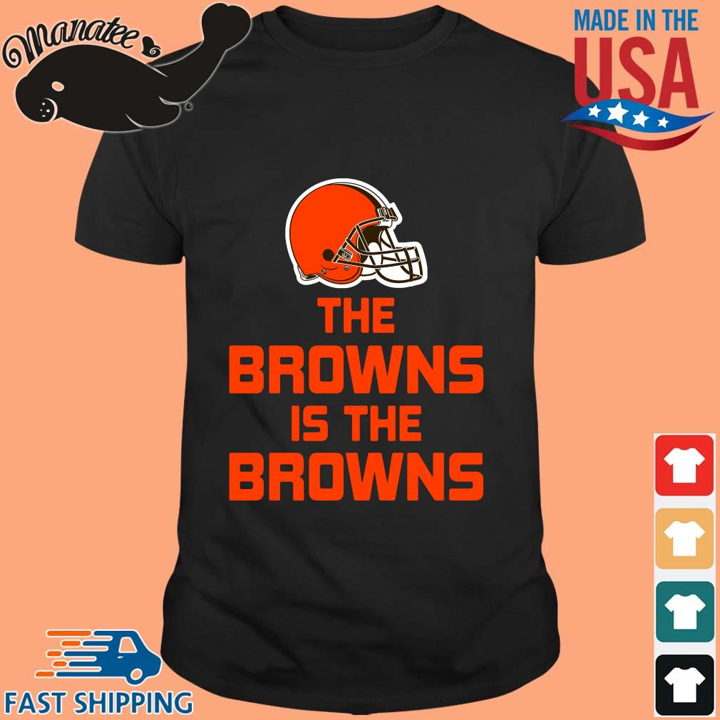 The Cleveland Browns is the Browns shirt