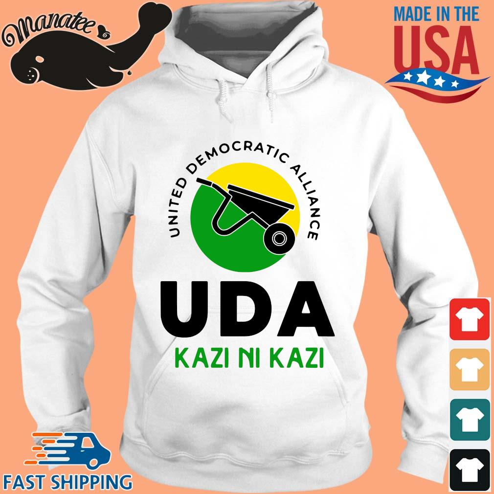 United democratic alliance uda kazi ni kazi s hoodie trang
