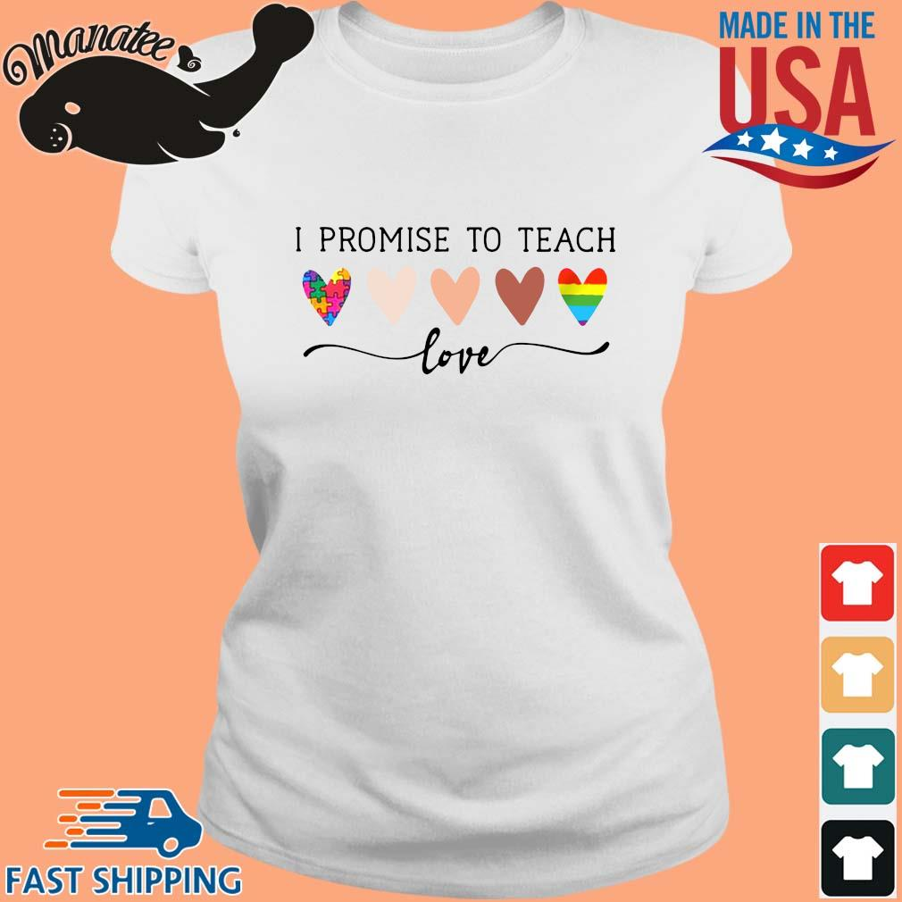 Autism LGBT I promise to teach Love s Ladies trang