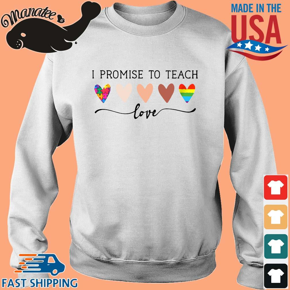 Autism LGBT I promise to teach Love s Sweater trang